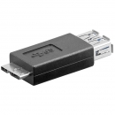 USB 3.0 SuperSpeed Adapter : A-Buchse > Micro B-Stecker