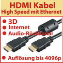 1,0 m HDMI ® Premium High Speed Kabel ; 3D und Ethernet