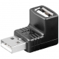 Mobile Preview: USB Winkel -Adapter 90°, USB 2.0 Hi-Speed