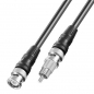 Preview: 10 m BNC - Cinch Adapter-Kabel mit 75 Ohm RG 59 Koaxial Kabel; 2x geschirmt