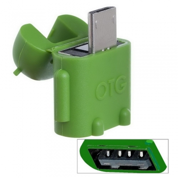 USB OTG Mini Adapter High Speed : A-Buchse auf  Micro B-Stecker, Android style