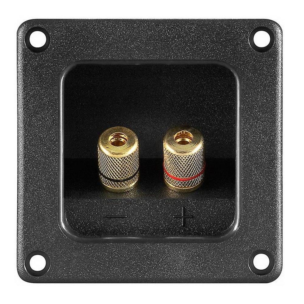 Lautsprecher Einbau-Anschluss-Terminal Stereo, 2-polig, mit ...