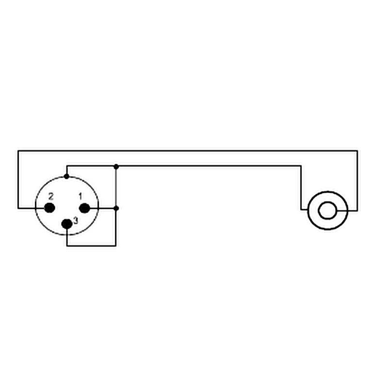 5x 3 pol Cannon XLR Kupplung female weiblich Mikrofon Buchse Flanscheinbau