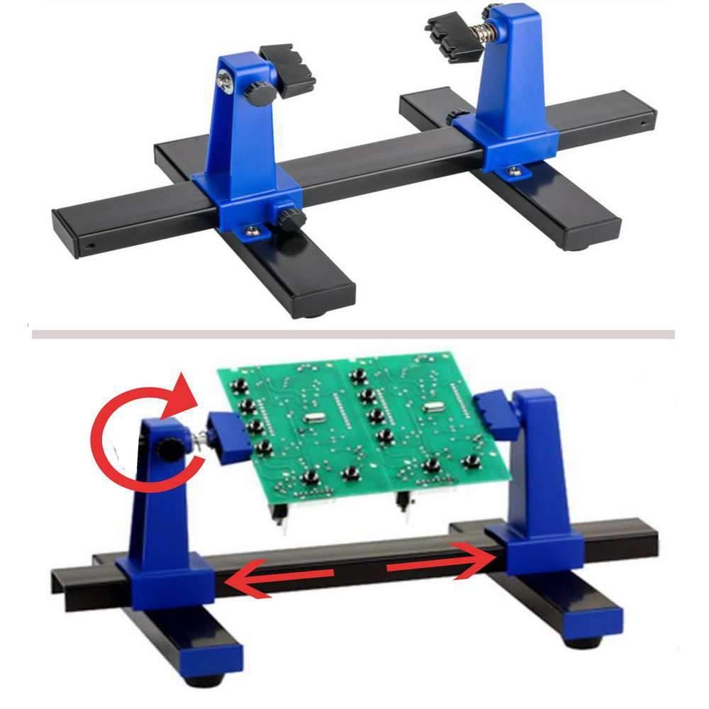 ausziehbar Platinenhalter f/ür Best/ückung von Leiterplatten; drehbar