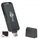 USB 3.0 Kartenleser, Card Reader SuperSpeed; Micro SD, SD, XC; Typ C Stecker