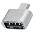 USB OTG Mini Adapter High Speed : A-Buchse auf  Micro B-Stecker